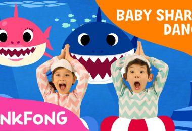 baby shark dance youtuben katsotuin video
